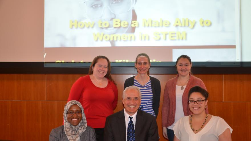 Princeton University Women in STEM Leadership Council with Dr. Christopher Kilmartin